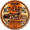 Plaque métal vintage Mother Road Repair