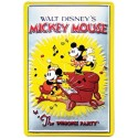 "Plaque décorative Mickey ""The Whoopee Party"""